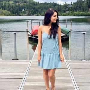 Denim American Eagle dress